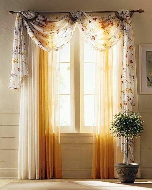rideau moderne dans de nombreuses couleurs