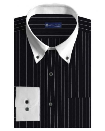 Buy The Gap custom banker shirts for men made out of best cotton shirting fabric @Vitruvien.com. Click now to buy 100% pure cotton tailor made shirts today!