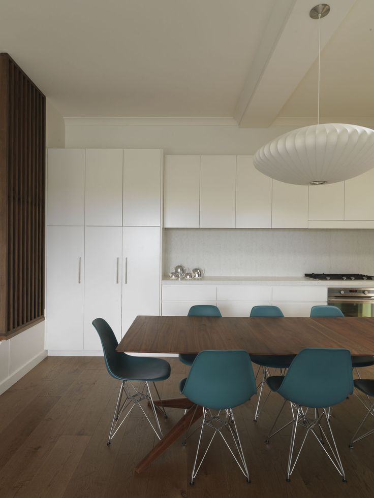 STEEPLE APARTMENT | alwill  #storage #kitchen #interiors #diningroom #diningtable #pendant #wood