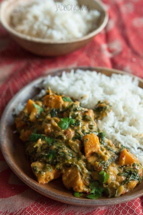 jadłonomia · roślinne przepisy: Curry z dynią i masłem nerkowcowym