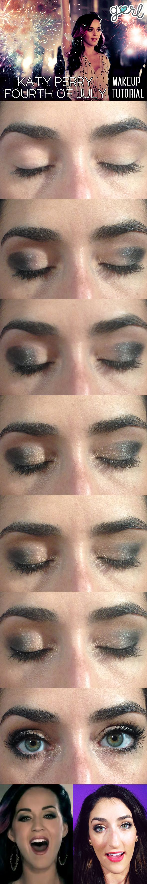 The foolproof guide to katy perry 39 s firework makeup for for Perry cr309 s manuale