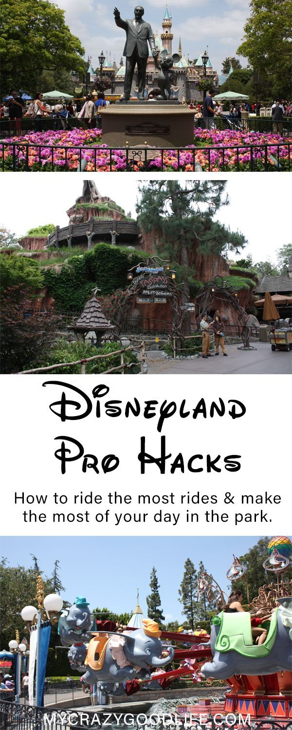 How do you make the most of every minute at Disneyland? Here are my personal Disneyland Hacks–how to ride the most rides and make the most of your day at Disneyland.