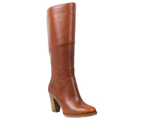 These women's boots have a lengthening effect, with sleek leather and sturdy three-inch heels. And with our patented Suspension Heel Technology and anti-fatigue comfort technology, you don't have to worry about spending long days in tall boots - they'll enhance your look with every stride.