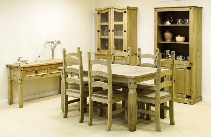 Mexican Rustic Pine Furniture