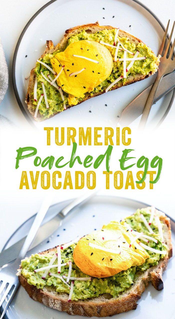 Avocado Toast With Turmeric Egg Recipe Healthy Breakfast Recipes