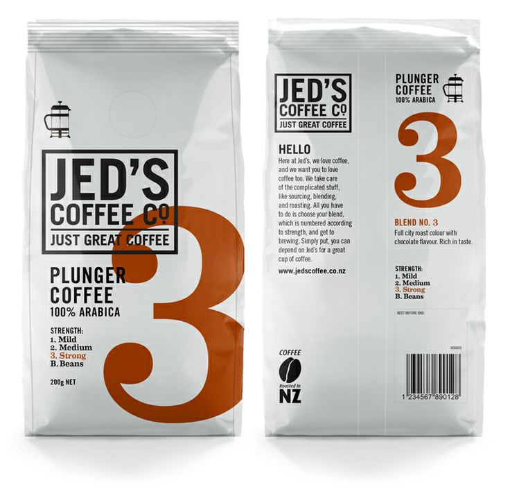 Jeds Coffee Co. | Packaging of the World: Creative Package Design Archive and Gallery