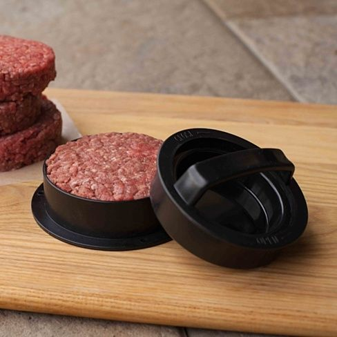 3-in-1 Stuffed Burger Press , Make the Perfect Burger, Stuffed Burger or Sliders