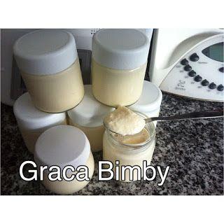 Bimby Truques & Dicas: Iogurtes sólidos com polpa de ananás