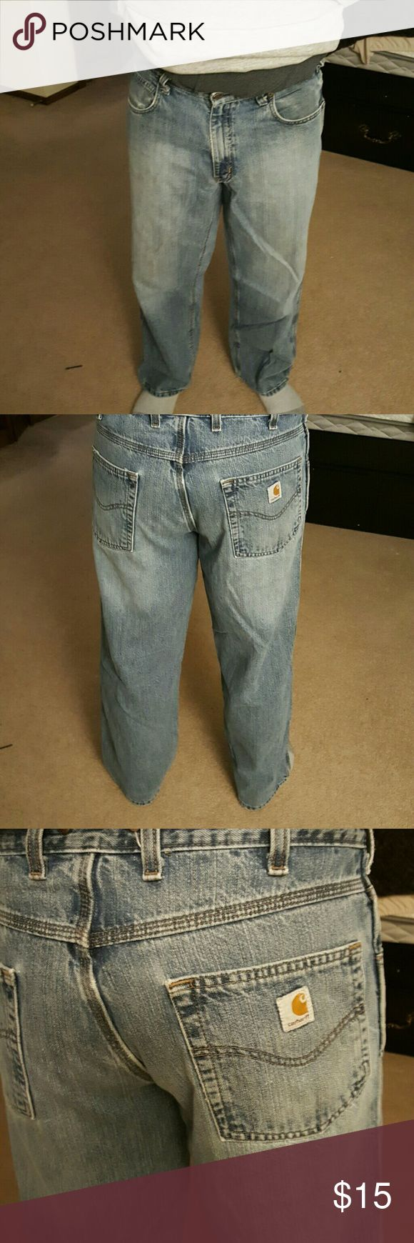 Mens carhart jeans Gently used Carhartt Jeans Relaxed
