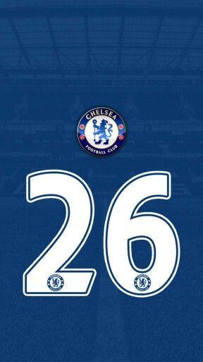 CHELSEA FC: JOHN TERRY's Number 26 Shirt