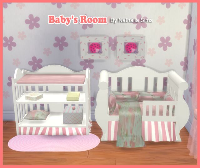 Sims 4 CC's - The Best: Baby's Room Conversion 2t4 by Nathaliasims