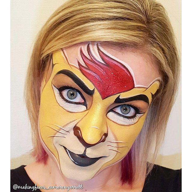 Best 25+ Lion face paint ideas on Pinterest | Animal ...