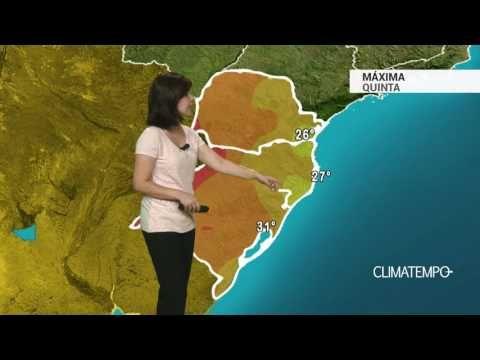 Previsão Sul – Risco de chuva forte aumenta