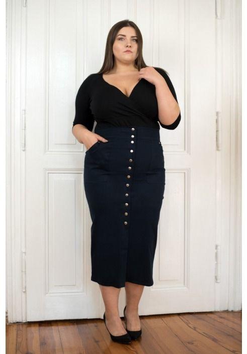 d426e0a531 spódnica  fashion  moda  plussize