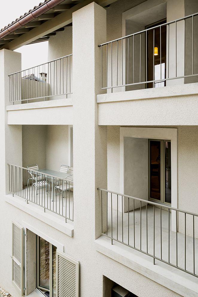 Sergison Bates architects, casa a Monte, Castel San Pietro 2014. (Foto: Marcelo Villada Ortiz)