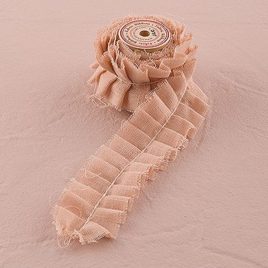 Ruffled Fabric Ribbon Trim