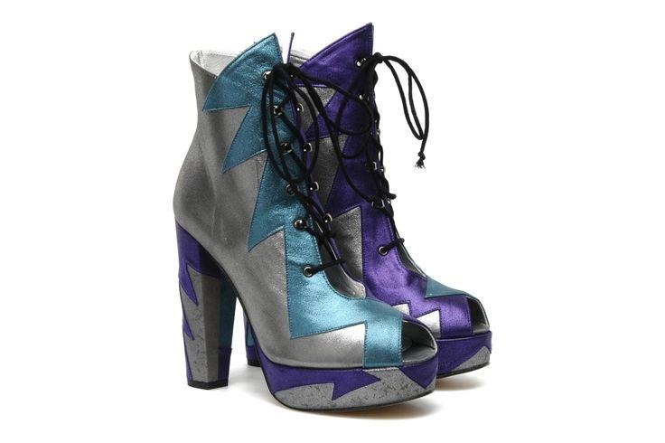 Terry de Havilland SHARD Multicolor Boots