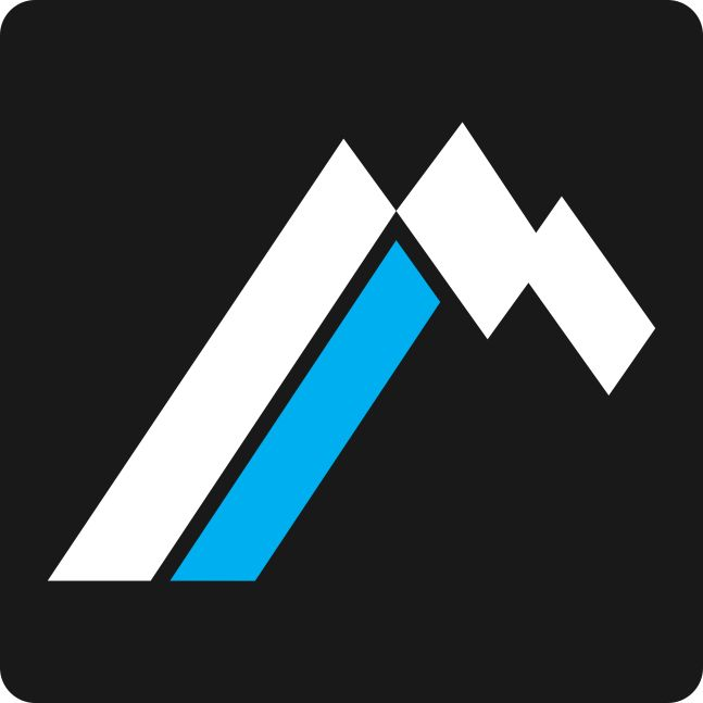 Use of lines to create a mountain top.