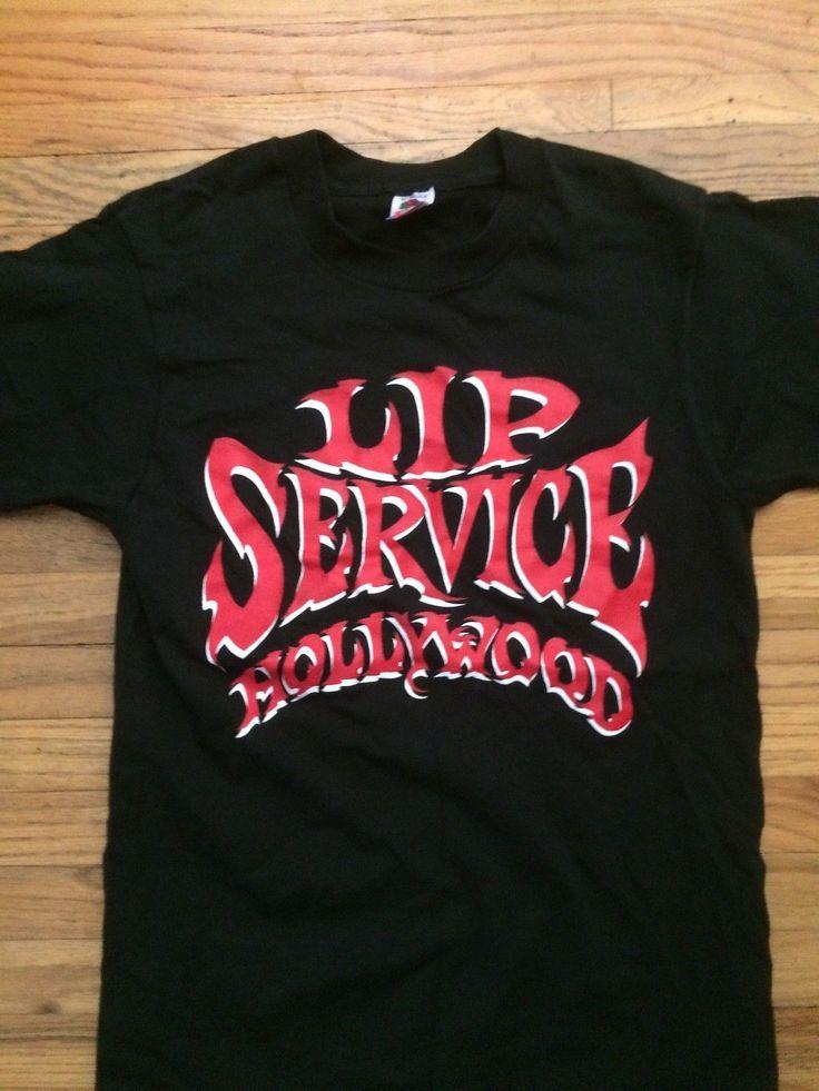 """LIP SERVICE T-Shirts """"Hollywood Store Logo"""" tshirt #TSHWD"""
