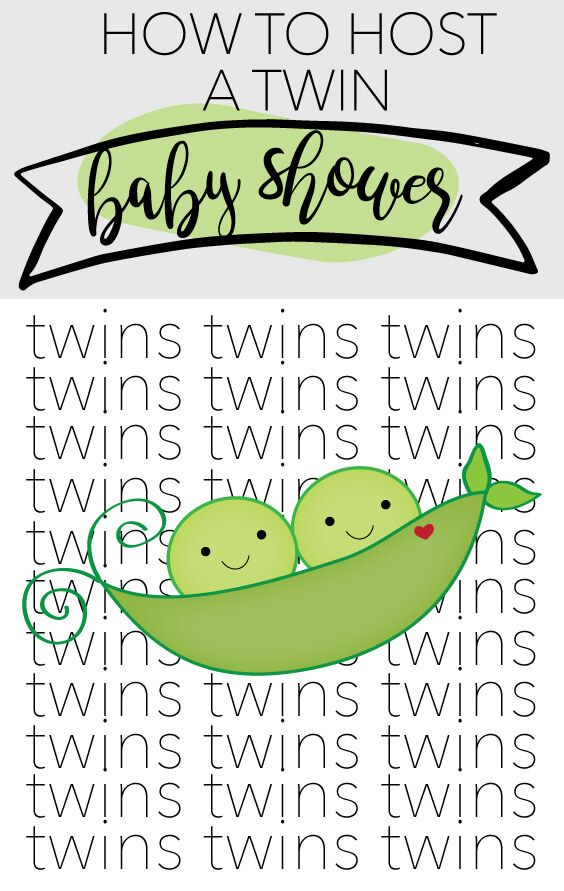 TWIN BABY SHOWER IDEAS: The secret to hosting the cutest twin baby shower!