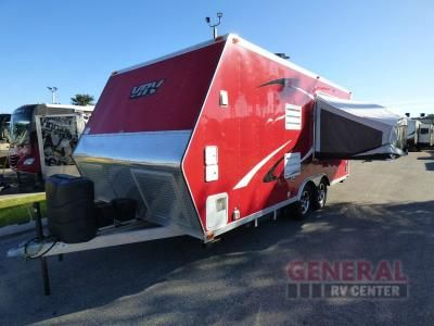 Used 2012 Livin Lite Quicksilver VRV 8.5 x 20 Toy Hauler Travel Trailer at General RV | Orange Park, FL | #132601