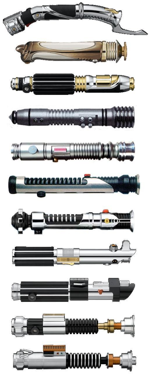 Lightsabers - Star Wars: