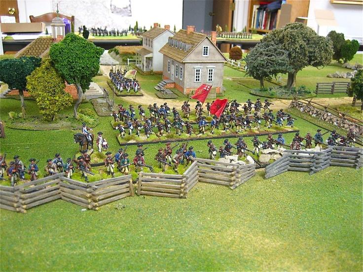Cadwalader's Militia Brigade - American Militia - Fife & Drum Miniatures from http://altefritz.blogspot.com/