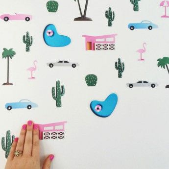 Palm Springs Wall Stickers