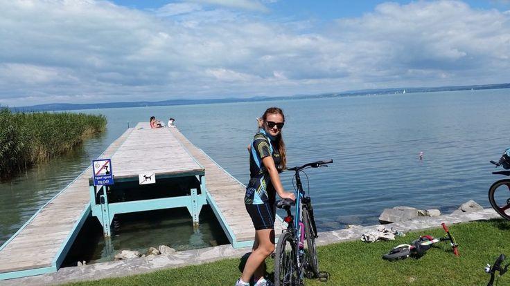 #balaton #cyclingroutes #summer #vacation #lake #hungary #siofok #bike #sunnyday