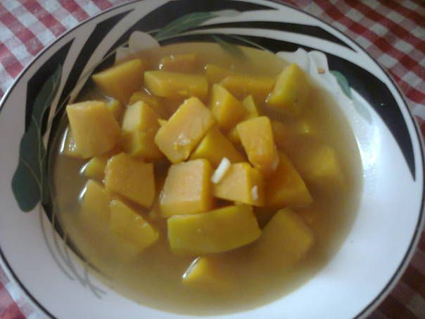 Sup Labu Kuning versi Mama