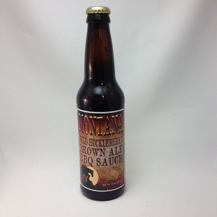 Get some Huckleberry Brown Ale BBQ sauce for your Fourth of July party at High County Gifts in Bozeman. https://highcountrygifts.com/in-the-kitchen/huckleberry-brown-ale-bbq-sauce.html