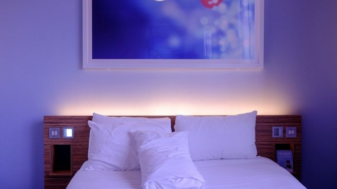 bedroom bed cool virtual rooms interiors messy postermywall meetings valentines