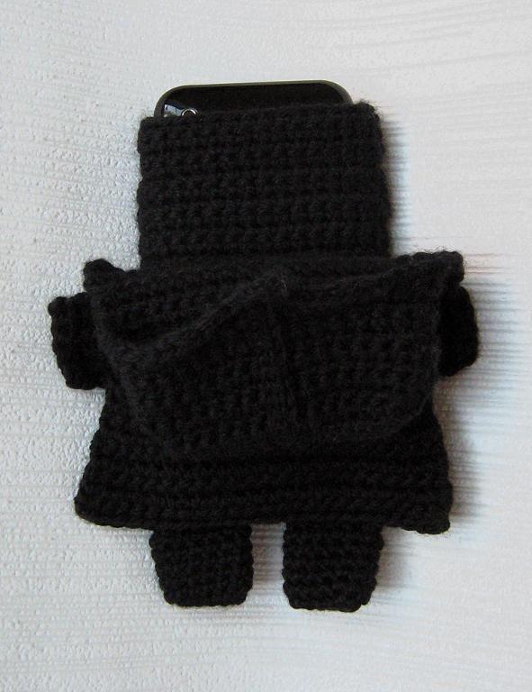 (4) имя: 'вязание крючком : Звездные войны Дарта Вейдера для iPhone 5, 4 уютная