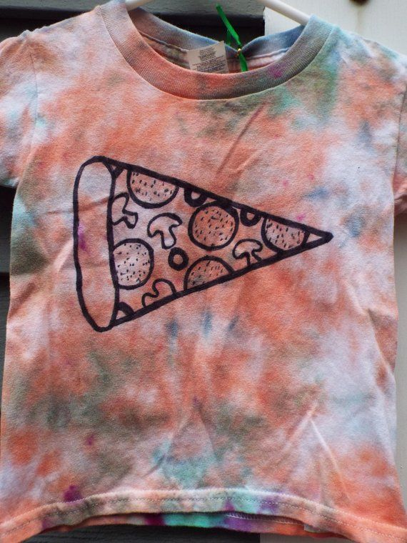 Toddler Pizza Shirt 3T Tie Dye Shirt, Pizza Lover, Funny Toddler Shirt, Toddler Girls, Toddler Boys,