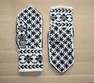 Ravelry: Rigmors Selbu mittens, 5th pair pattern by Rigmor Duun Grande