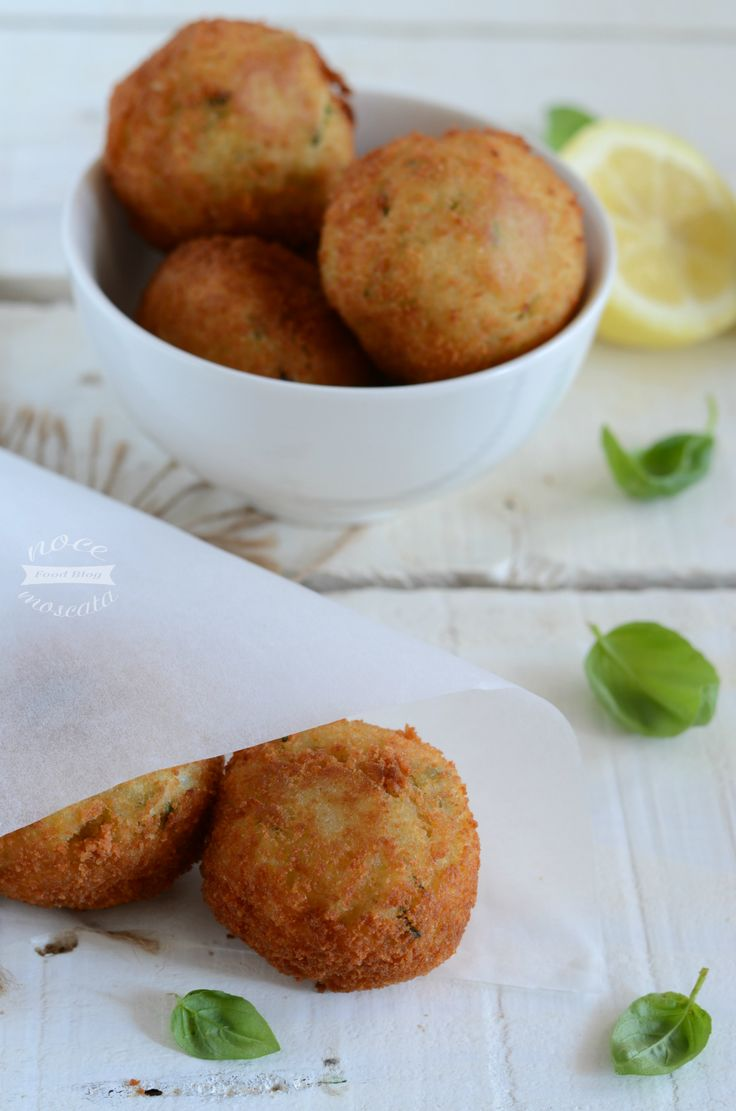 Crocchette di patate al profumo di basilico