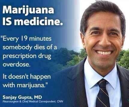 Sanjay Gupta | Marijuana IS medicine| medical marijuana