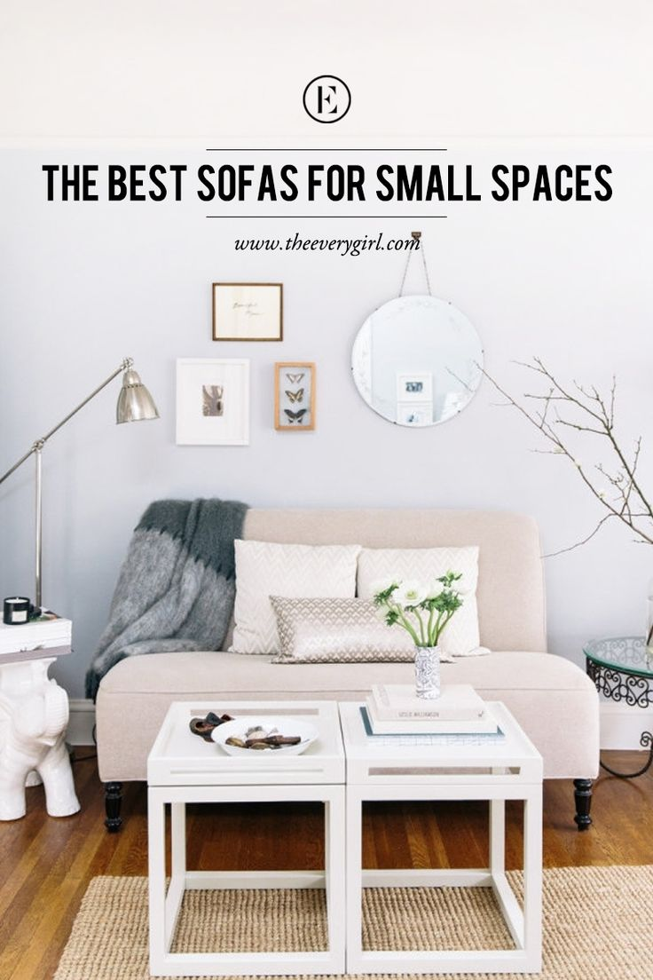 The Best Sofas for Small Spaces  #theeverygirl