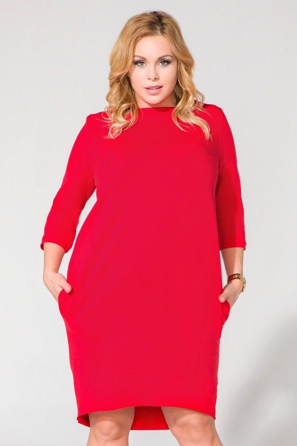 Sukienka T105 Size Plus