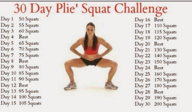 Fitness with Jamie: Pilé squat challenge