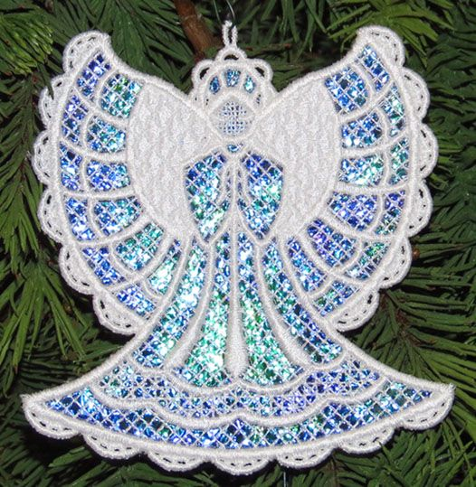 Machine Embroidery Designs K Lace Angels And Sets With