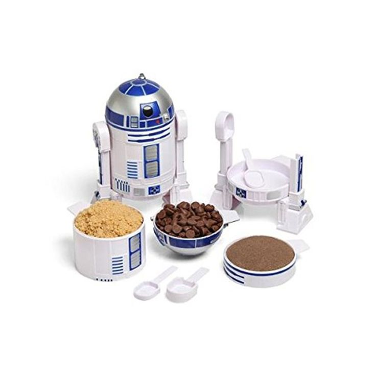 R2-D2 measuring cups gifts for star wars fans.gift for food lovers