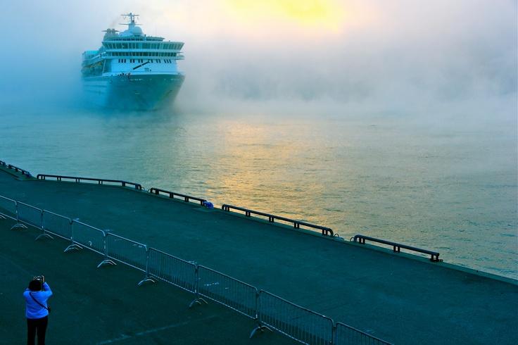 Arrivée du bateau de croisière Le Balmoral à Trois-Rivières #croisieres #cruise