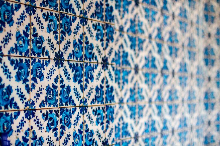 blue tiles #decor #colors