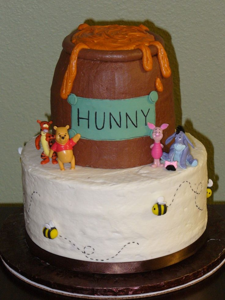 winnie the pooh baby shower cake pooh bear baby shower pinterest