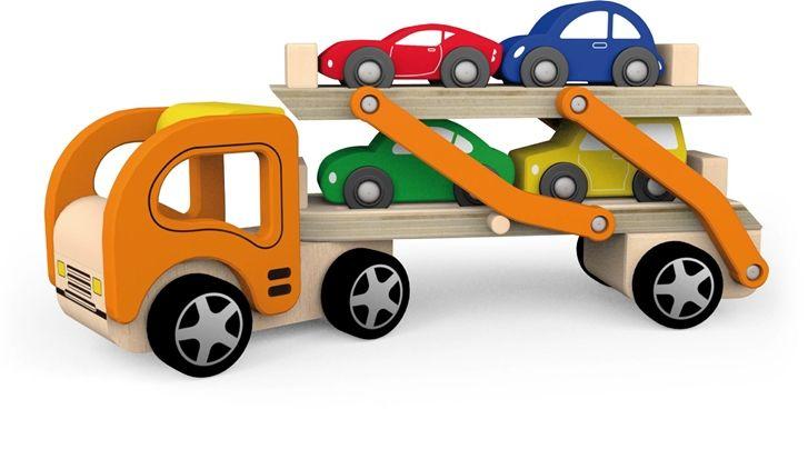 Woodlii Lastbil med Bilar