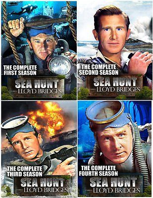 Sea Hunt: The Complete Series Collector's Edition (Seasons 1, Lloyd Bridges