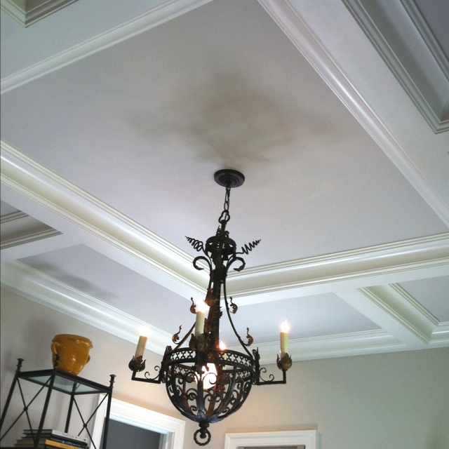 Best Coffered Ceiling Ideas Images On Pinterest Coffered - Cornice crown moulding toronto wainscoting coffered ceiling