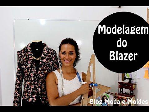 Blazer Inverno - MODELAGEM - YouTube