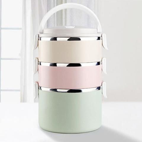 Stainless Steel Portable Food Container / Lunch Box